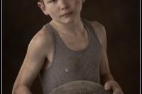 Children's character portrait by Columbia SC Children's Photographer Patty Hallman.